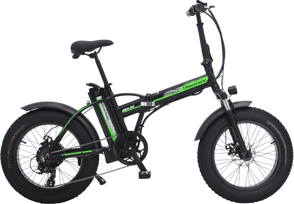 Shengmilo-MX20-Black-Electric-Folding-bike