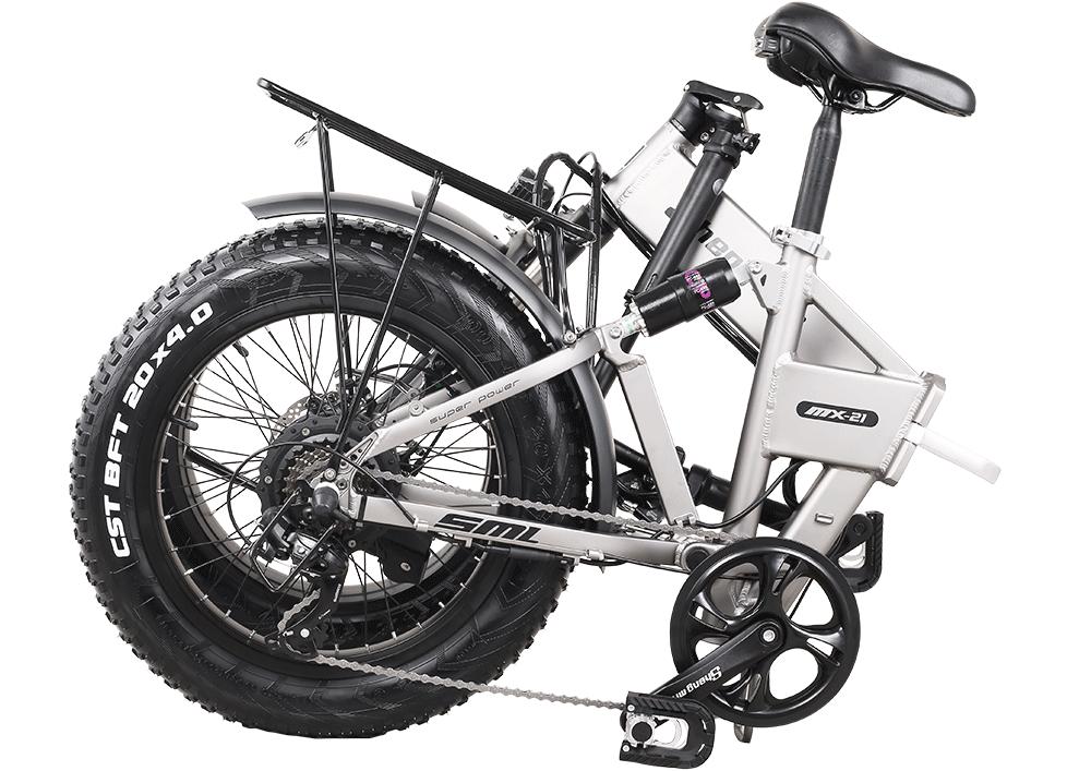 Shengmilo-MX21-folded-front-suspension-beach-bike-order-now