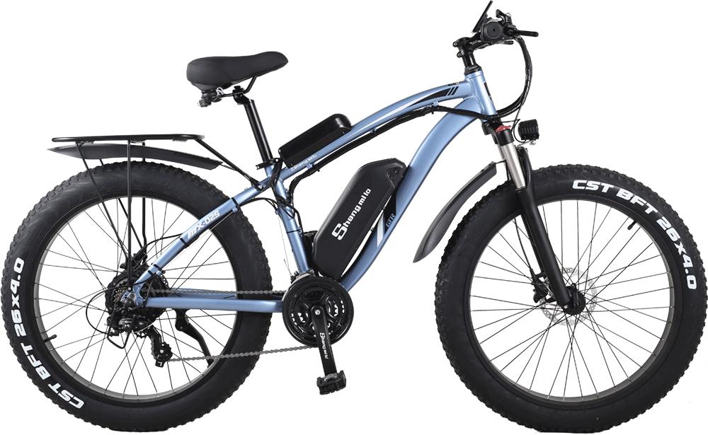 Shengmilo-MX02S-Blue-Electric-Mountain-Bike